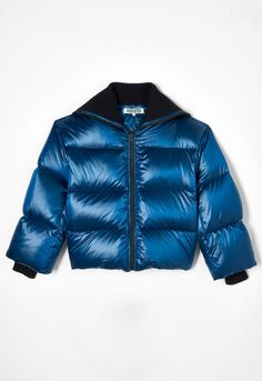 NAVY BLUE 'Holiday Capsule Collection' Puffa Jacket for women KENZO