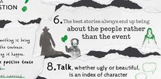 Top tips from Stephen King's author masterclass, On Writing, gathered in one handy infographic.