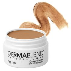 bff10f84afada Dermablend - Concealer/foundation. This seriously hides ANY skin  imperfection (so long as