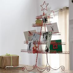 I need something to hold all the adorable holiday cards!
