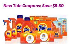 New Tide Coupons: Save $9.50