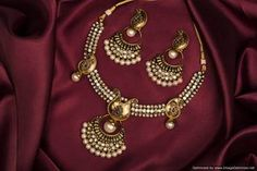 necklace set pearl