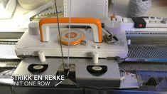 Manual fair isle on a punch card knitting machine