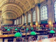 Boston Public Library 💖
