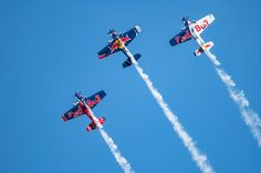 """""""Flying Bulls Aerobatic Trio"""" by Graziella Serra Art & Photo on Rich Image, Music Licensing, Sports Images, Free Gift Cards, Air Show, World Best Photos, Photo Library, Royalty Free Images, Vector Art"""