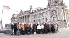 27. Februar 2009: Eine Besuchergruppe aus dem Eichsfeld erkundet Berlin.