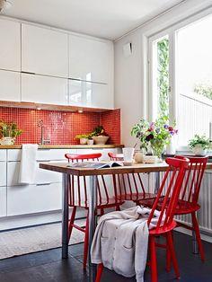 Wnętrza Zewnętrza: Polskie barwy w szwedzkiej kuchni