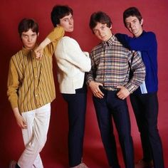 The Small Faces photographed in 1965