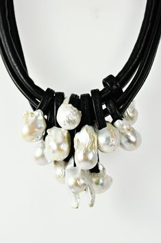 Monies Baroque Pearl Necklace
