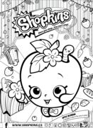 Shopkins has a bunch of coloring pages for you to download from their site.