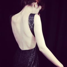 MONOCHROM - evening dress -brocade