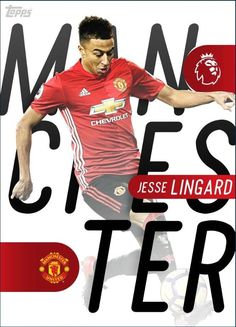 2017 Topps KICK PL Manchester Derby Series 2 Jesse Lingard 4X PTS