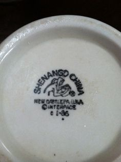 Vintage Shenango China
