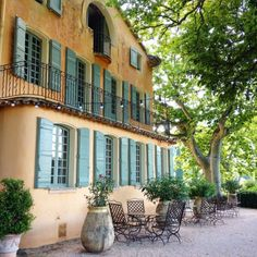 Domaine de la Baume front, luxury hotel, boutique hotel, Provence, France, From the Poolside blog on boutique hotels and stylish rentals for...