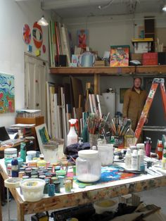 creative spaces, artist Erik den Breejen in his studio | Pencil in the Studio