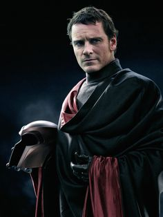 <3 ---- X-Men is my all time favorite movie series and this to me, makes Michael finally look like Magneto and I love that
