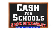 Your top customer rated Chrysler, Jeep, Dodge and Ram Truck dealership, Lawton Chrysler Jeep Dodge, located 30 minutes south of Chickasaw on SE Interstate Drive, is excited to team up with KSWO News Channel 7 for the big $20,000 Cash For Schools Giveaway!