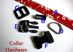 Dog Collar Instructional Guide Teaching You How by ThePreppyOwl