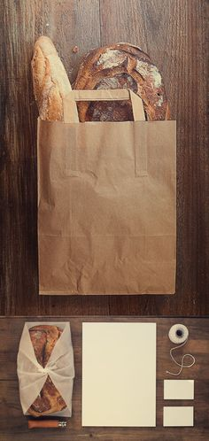 Bread Bag and Stationery Mock up Template » Free Special GFX Posts Vectors AEP Projects PSD Web Templates