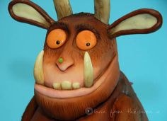 gruffalo cake 4 4 Year Olds, Love Cake, Polymer Clay, Nerd, Birthday Cake, Treats, Cakes, Canning, Christmas Ornaments