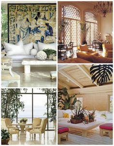 Interior design by Michael Taylor