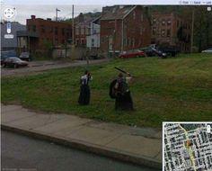 Τι κατέγραψε το Google Street View; (Αστείες Φωτογραφίες)