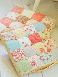 Cojines para asientos patchwork blog en patchwork for Almohadones para sillas