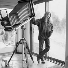 Sally Mann in her studio by Molly Roberts