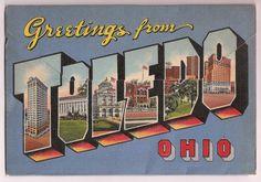 Toledo Ohio Vintage Souvenir