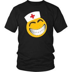 Nurse Student Shirt Nurse Emoticon Nursing School T Shirt