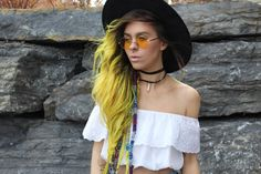 Bewolf Clothing: Indie Festival Hippie Oversize Round Colorful Lens Sunglasses 9580