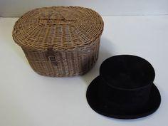 Storage basket for top hat