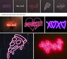 Random requested neons at Dominationkid via Sims 4 Updates