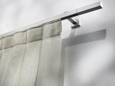 Contemporary style aluminium curtain rod PASITEA | Aluminium curtain rod by Scaglioni