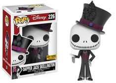 Hot Topic actually gave sneak peek at the new Dapper Jack Skellington Pop! Vinyl last night, but now we have an official look at the new Nightmare Before Christmas Pop. The new Dapper Jack Skellington Pop! Vinyl is set to be released this month at your local Hot Topic store and online at HotTopic.com.