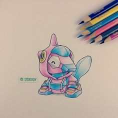 A #Porygon wearing a #PorygonZ pullover.