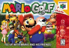 Nintendo 64 - Mario Golf