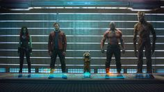 Check out this new official photo and plot synopsis from next summer's Marvel movie, Guardians of the Galaxy.