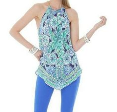 Lilly Pultizer Resort '13- Cabana Top