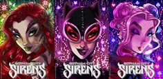 Gotham City Sirens by ArtCrawl on artcrawl.deviantart.com