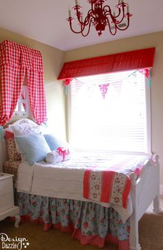 Turn a Wood Shutter into a Window Valance - Design Dazzle