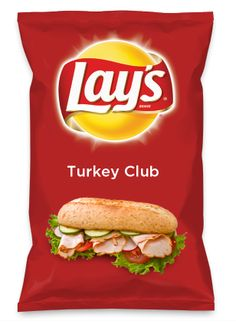 Wouldn't Turkey Club be yummy as a chip? Lay's Do Us A Flavor is back, and the search is on for the yummiest flavor idea. Create a flavor, choose a chip and you could win $1 million! https://www.dousaflavor.com See Rules.