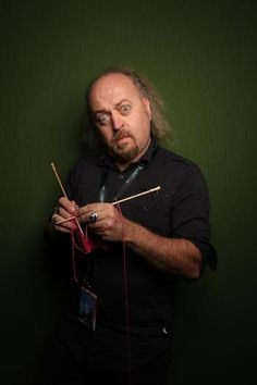Bill Bailey We don't actually know if he knits, but hope it's what it looks like.30 Celebs Who You Never Knew Knitted