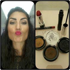 #IDEEMIAMAKEUP Trucco del giorno di Simona!   #fondotinta #blush #rossetto #ombretto #eyeliner  #miamakeuprimini #miamakeup #trucchi #makeupartist #makeupbyme #italianmakeup #italianmakeupartist #makeupblogger #riminicentro #viagaribaldi27