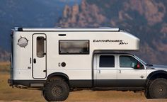 EarthRoamer Turns Ford Trucks Into Off-Road Campers | Cool Material