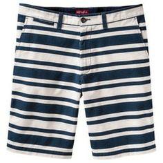 strippity striped shorts