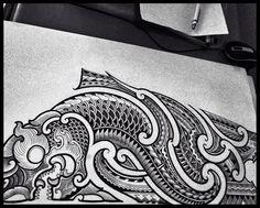 thai tattoo  by jack release tattoo release tattoo maori thailand พญานาค Line ID:jack010829 Facebook:Jack Manop