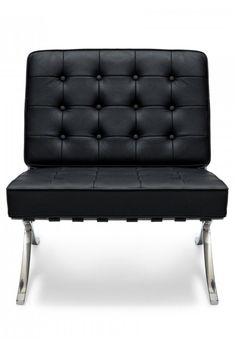 Barcelona Chair - Mad Men Decorating Tips - Retro Furniture (EasyLiving.co.uk)