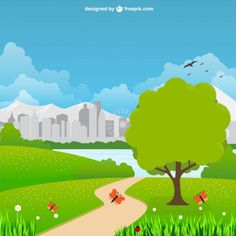 City park landscape vector - Freepik.com-Trees-pin-40