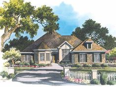 Eplans New American House Plan - Covered Lanai - 2431 Square Feet and 3 Bedrooms from Eplans - House Plan Code HWEPL05578